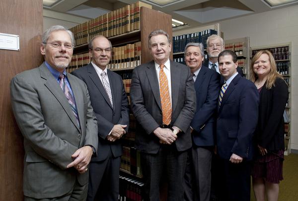 Post University's undergrad law library