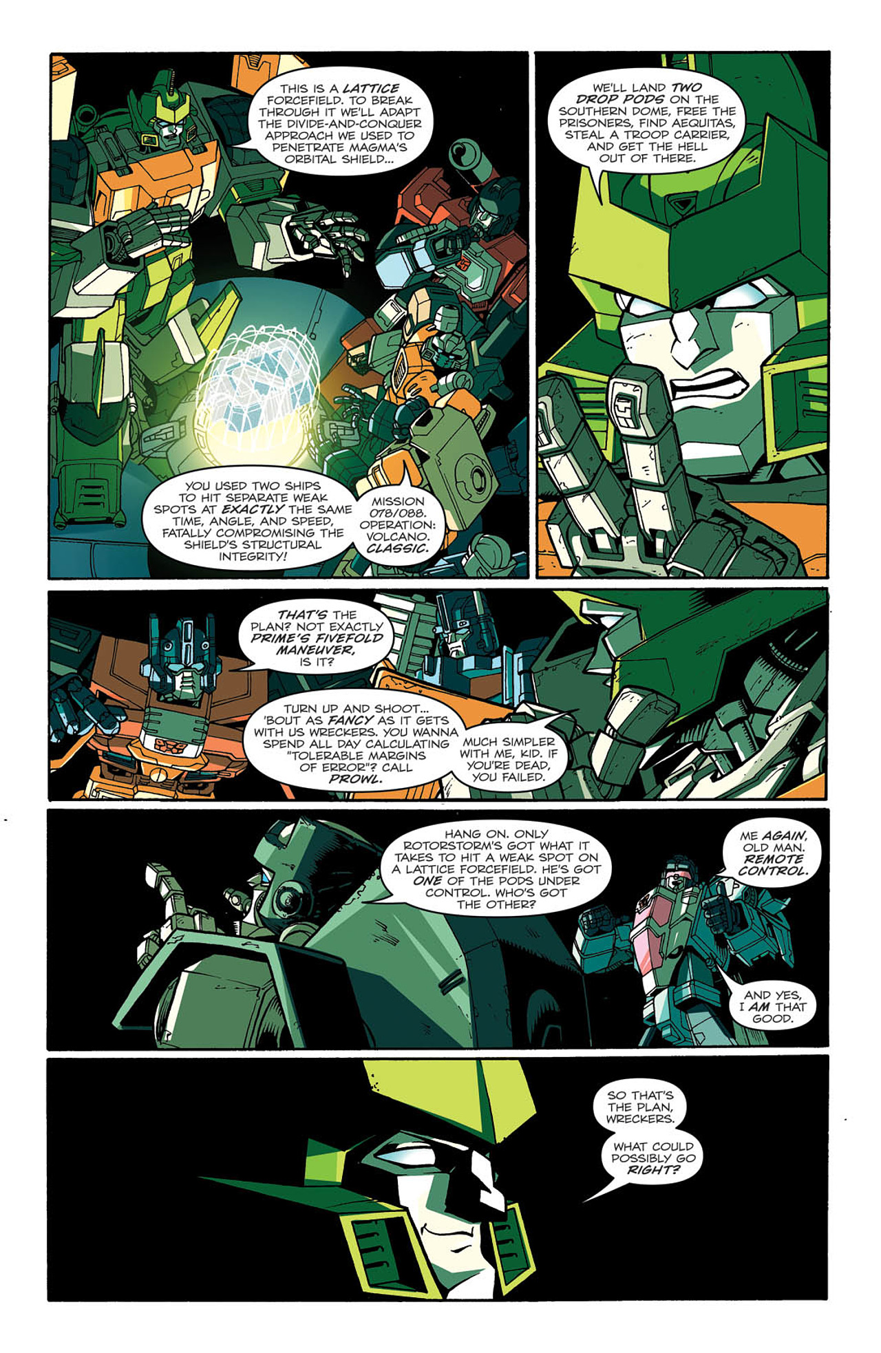 Read online Transformers: Last Stand of The Wreckers comic -  Issue #2 - 18