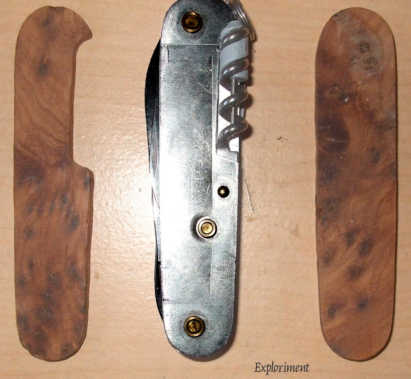 Exploriment Wood Swiss Army Knife Scales