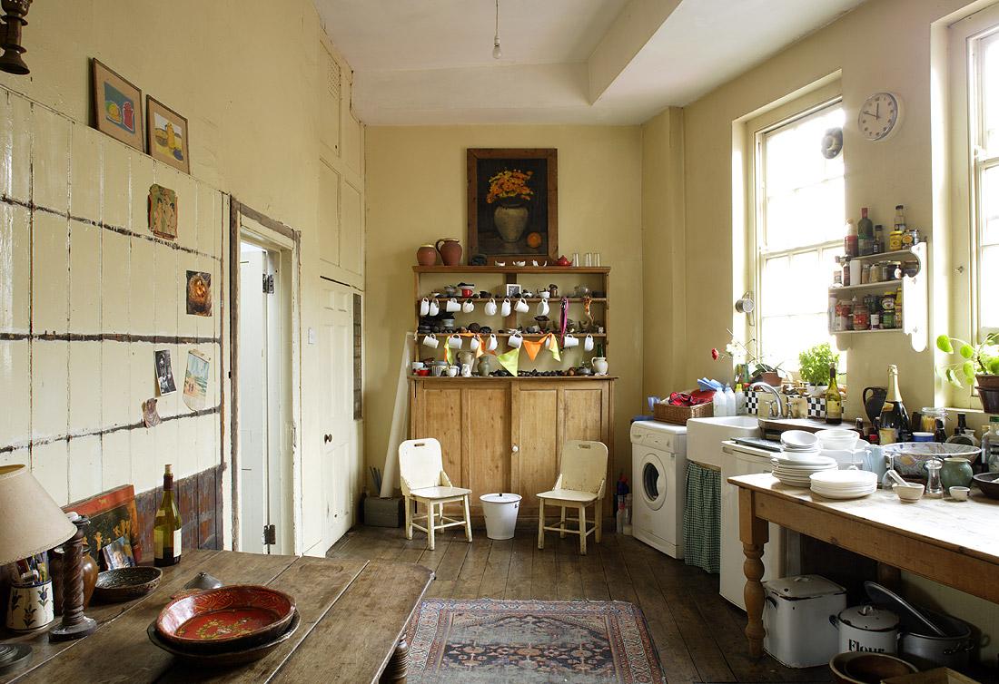cosy corner le charme d 39 une cuisine vintage. Black Bedroom Furniture Sets. Home Design Ideas