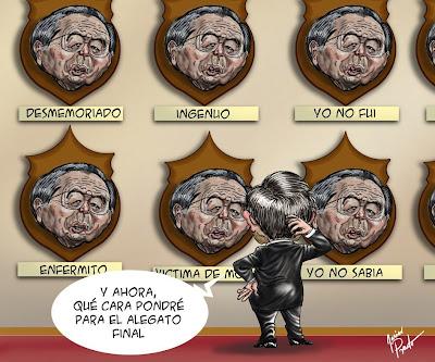 Caricatura de Javier Prado