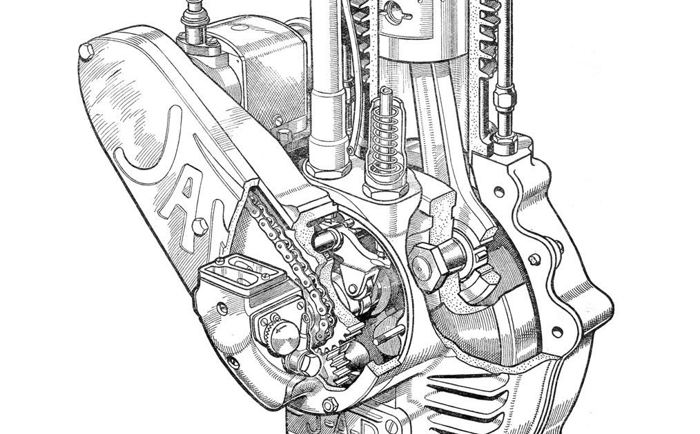 Keep Turning Left: J.A.P. Speedway Engine
