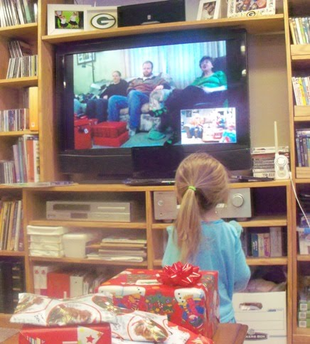 Draeger Familie Nieuws: Draeger Family Christmas    Trying