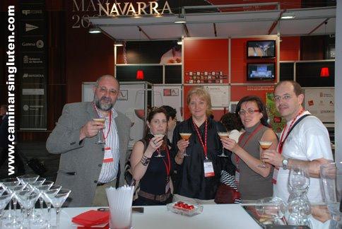 Bloggers sin gluten en Navarra Gourmet 2009