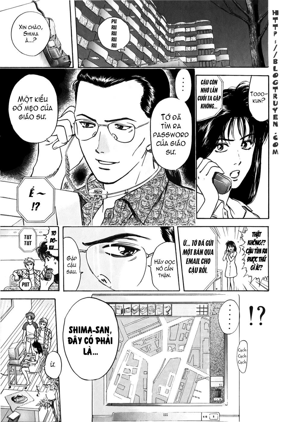 Psychometrer Eiji chapter 20 trang 13