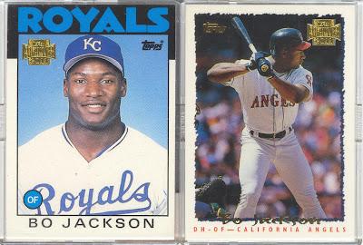 Bdj610s Topps Baseball Card Blog 2011 Topps Archives Bo Jackson