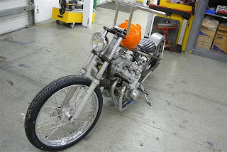 As the donutt turns    : cb750 choppers