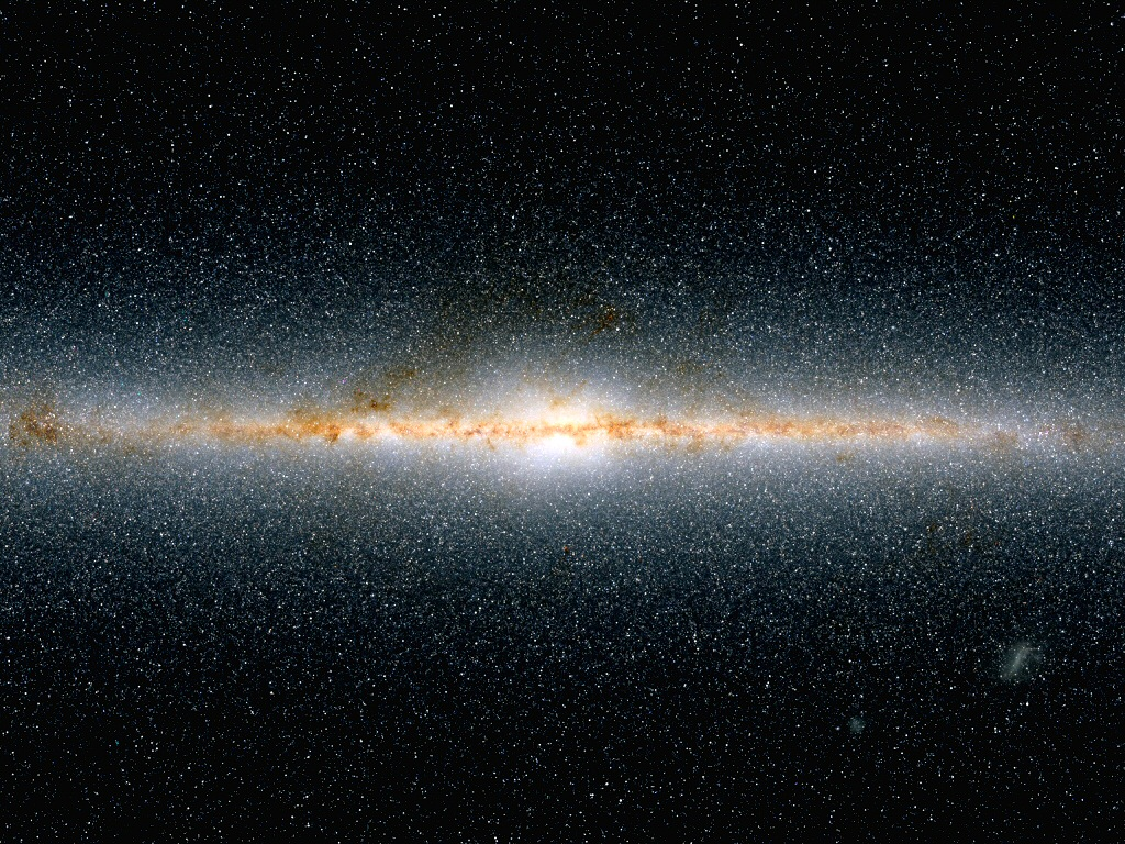 milky way galaxy in relation to other galaxies - photo #30