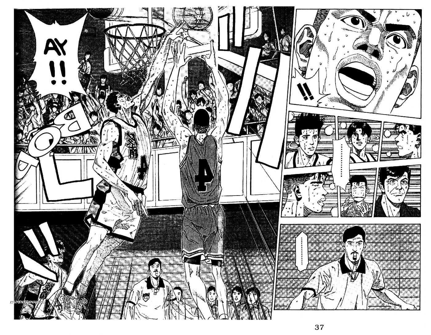 Slam Dunk chap 174 trang 11