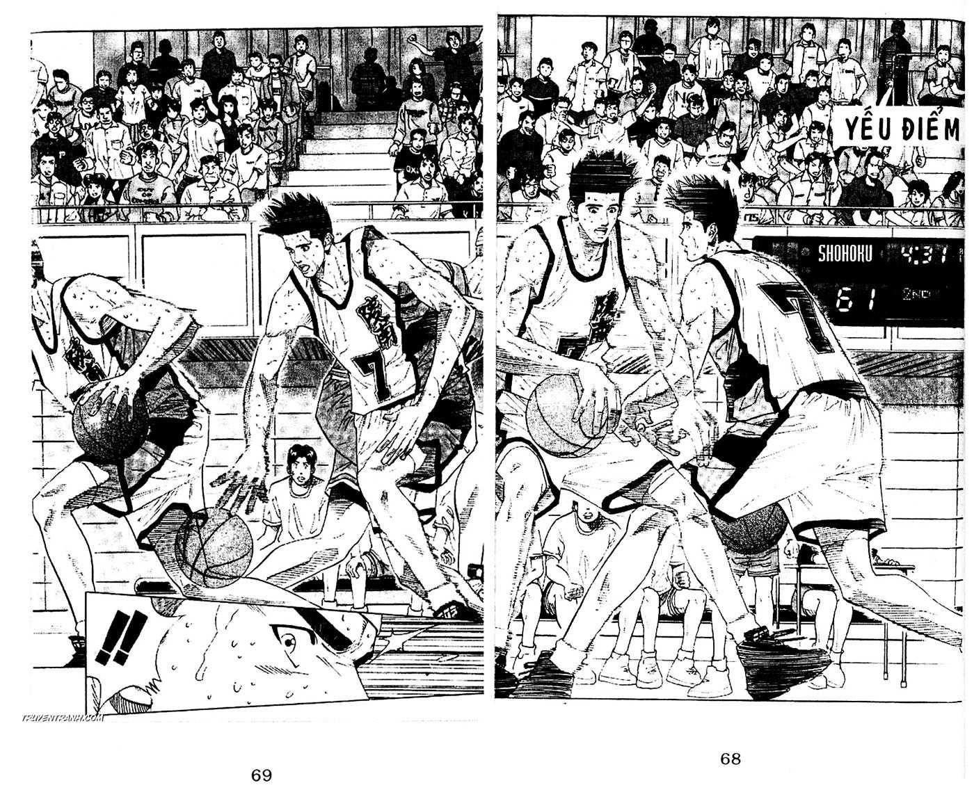 Slam Dunk chap 176 trang 3