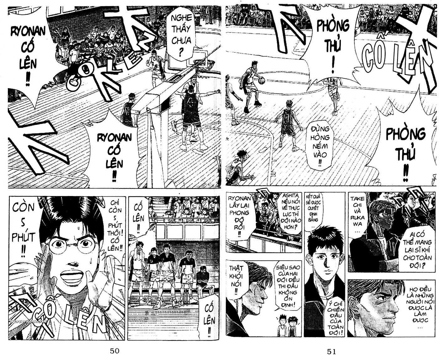 Slam Dunk chap 175 trang 4