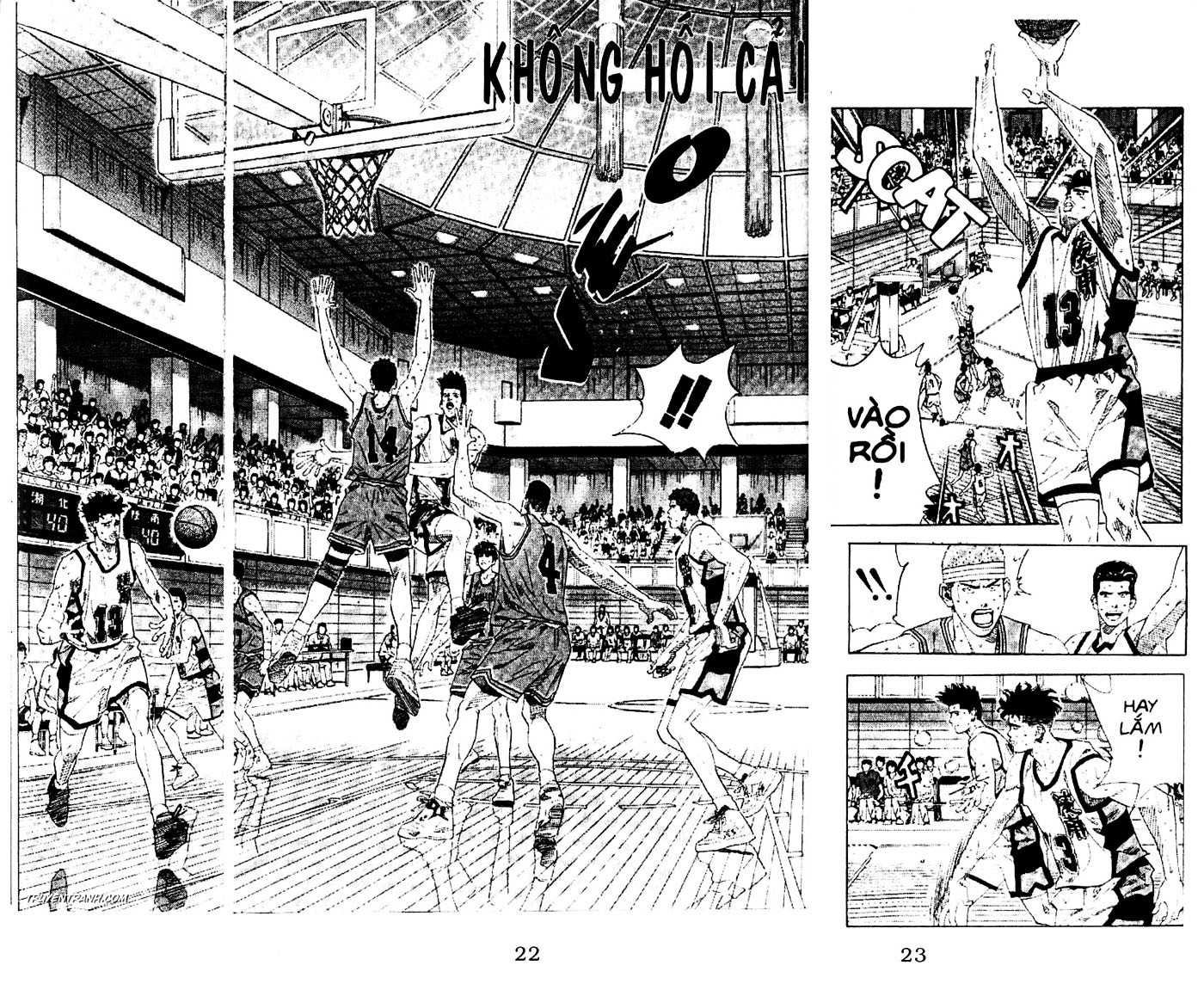 Slam Dunk chap 166 trang 3