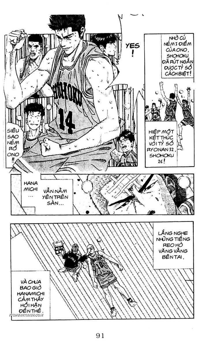 Slam Dunk chap 161 trang 19