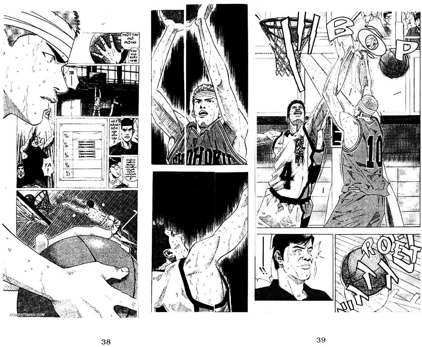 Slam Dunk chap 166 trang 18