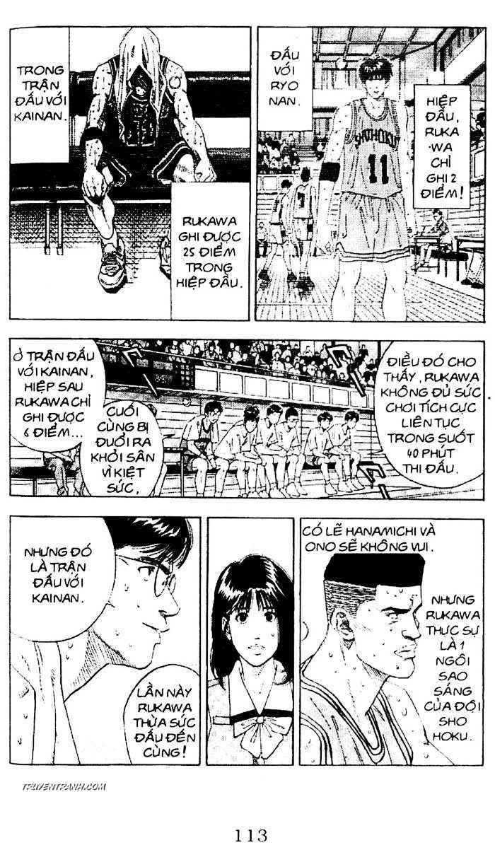 Slam Dunk chap 163 trang 2
