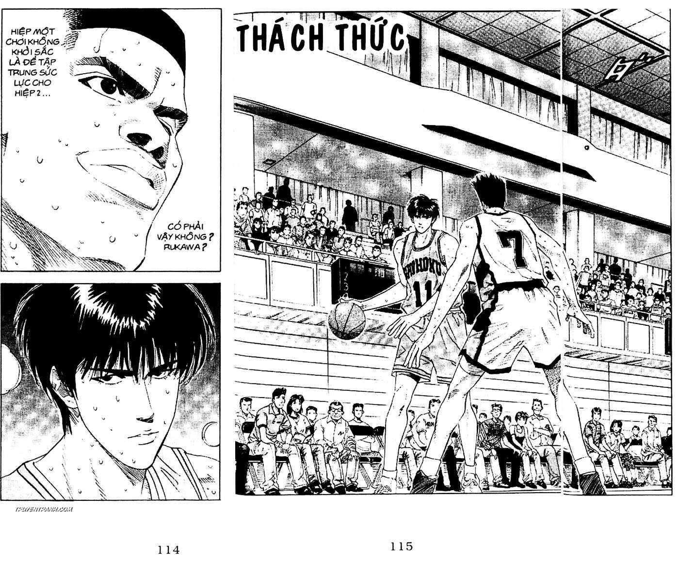 Slam Dunk chap 163 trang 3