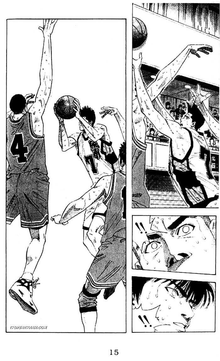 Slam Dunk chap 165 trang 16