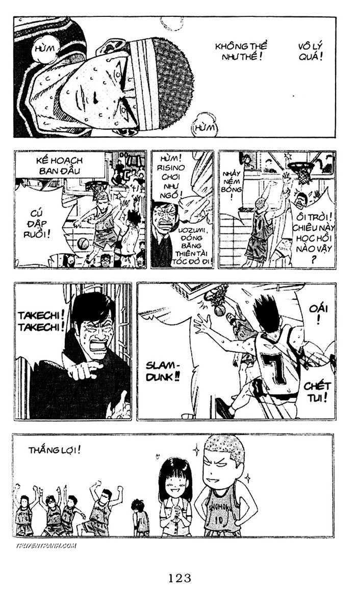 Slam Dunk chap 163 trang 11