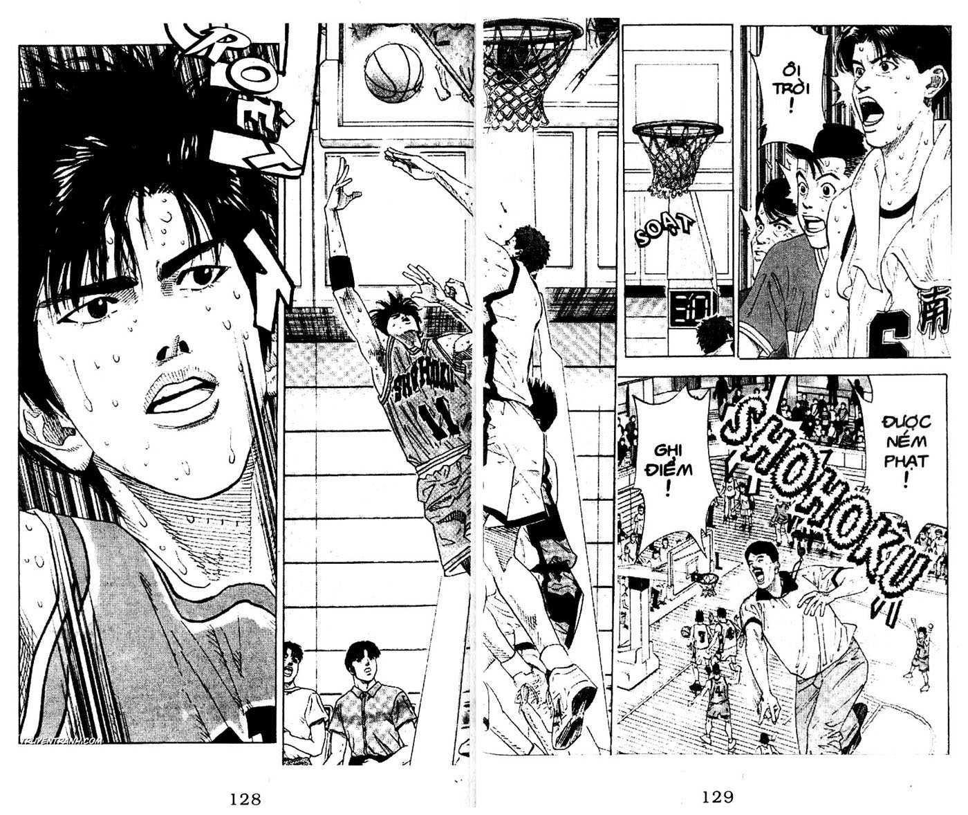 Slam Dunk chap 163 trang 16