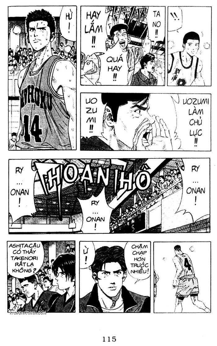 Slam Dunk chap 155 trang 10