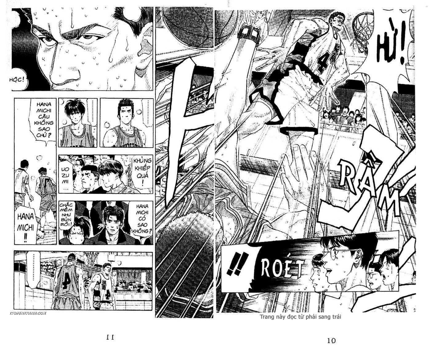 Slam Dunk chap 157 trang 16