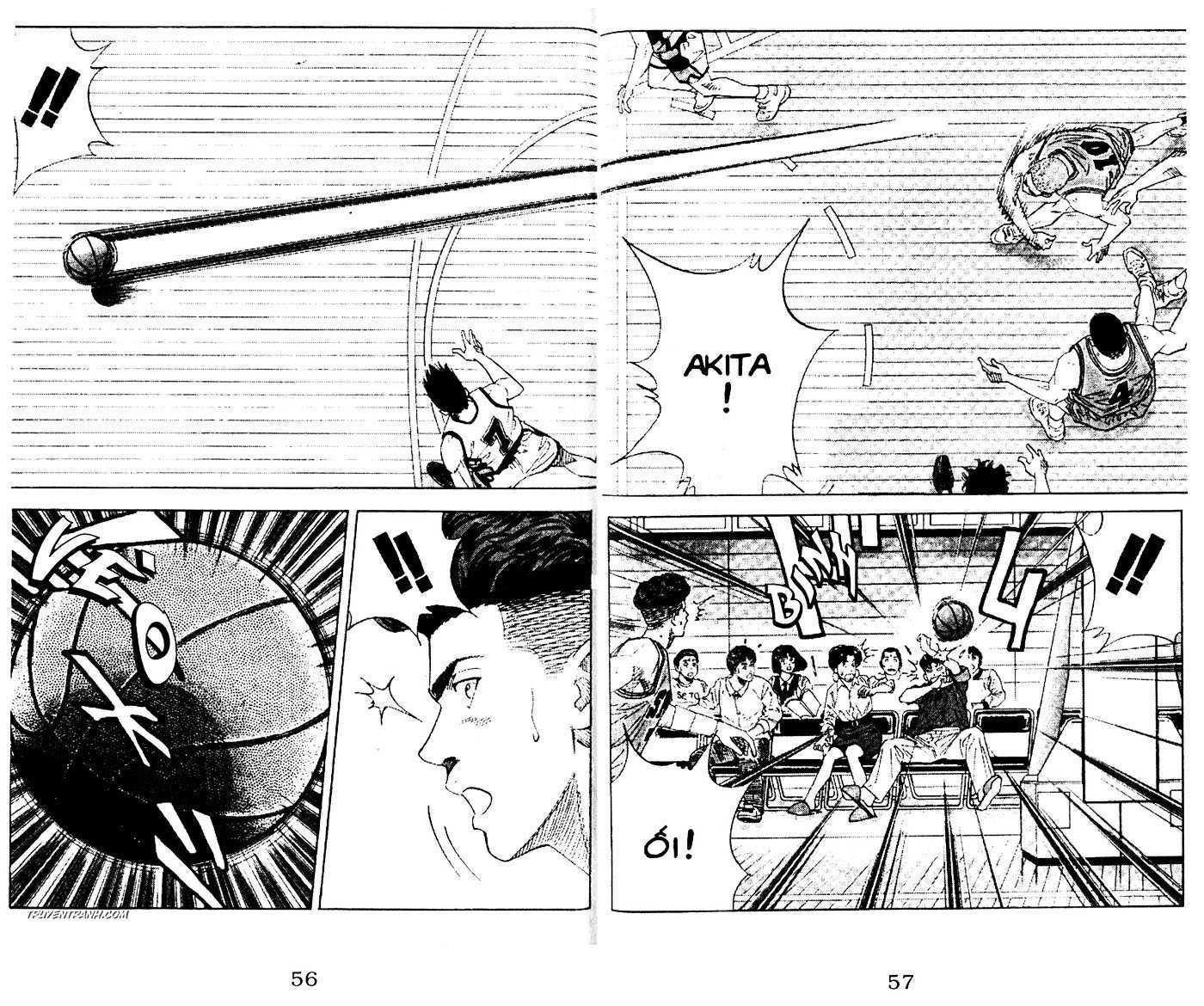 Slam Dunk chap 152 trang 11