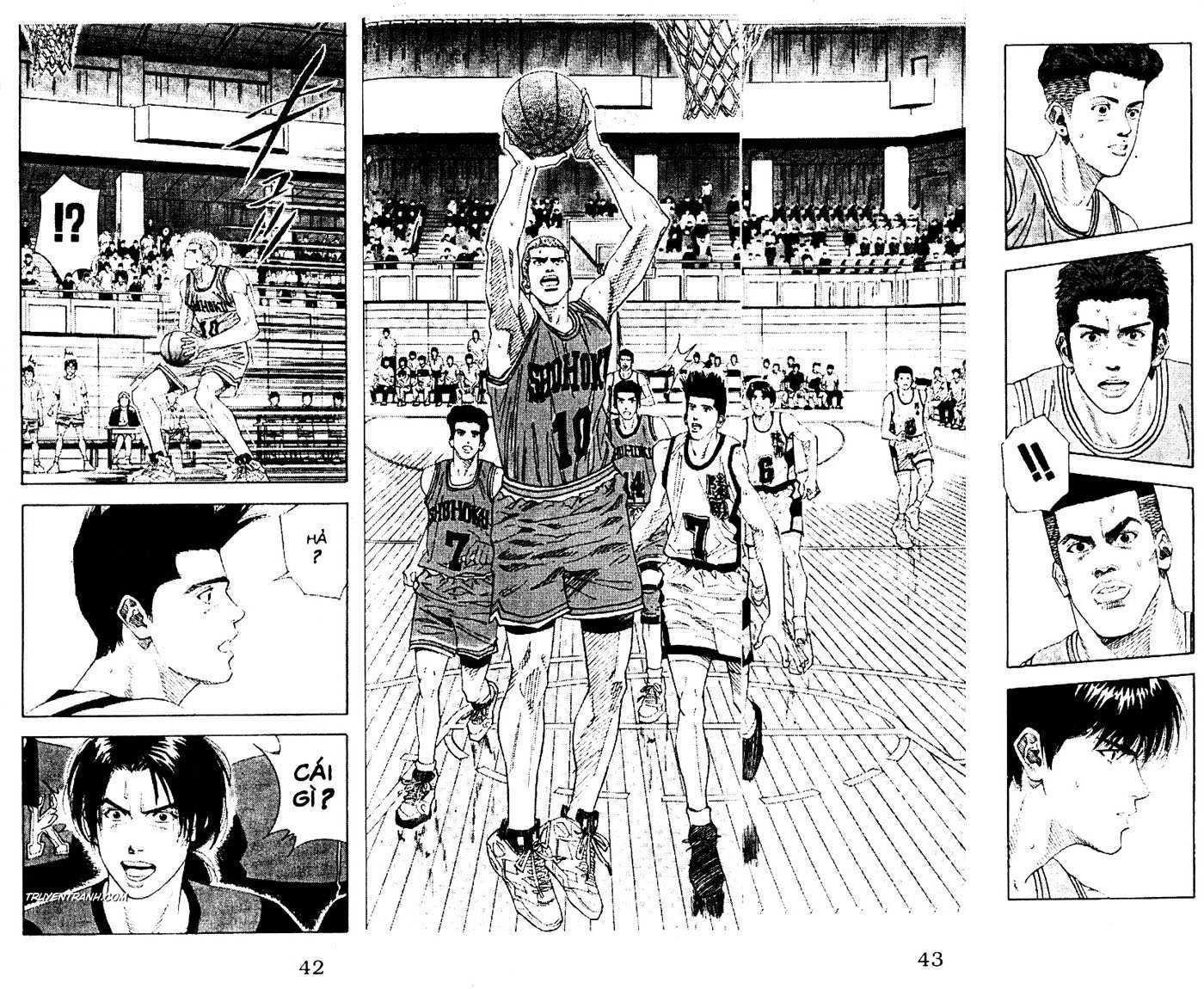 Slam Dunk chap 151 trang 15