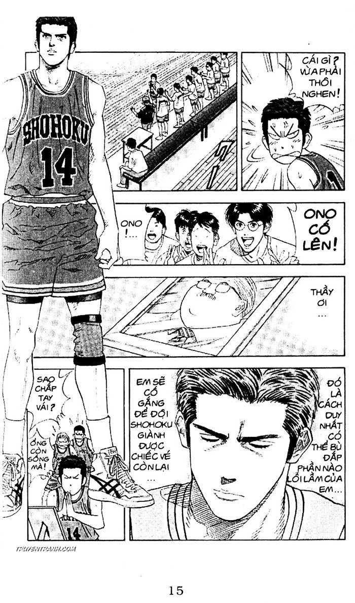 Slam Dunk chap 150 trang 9