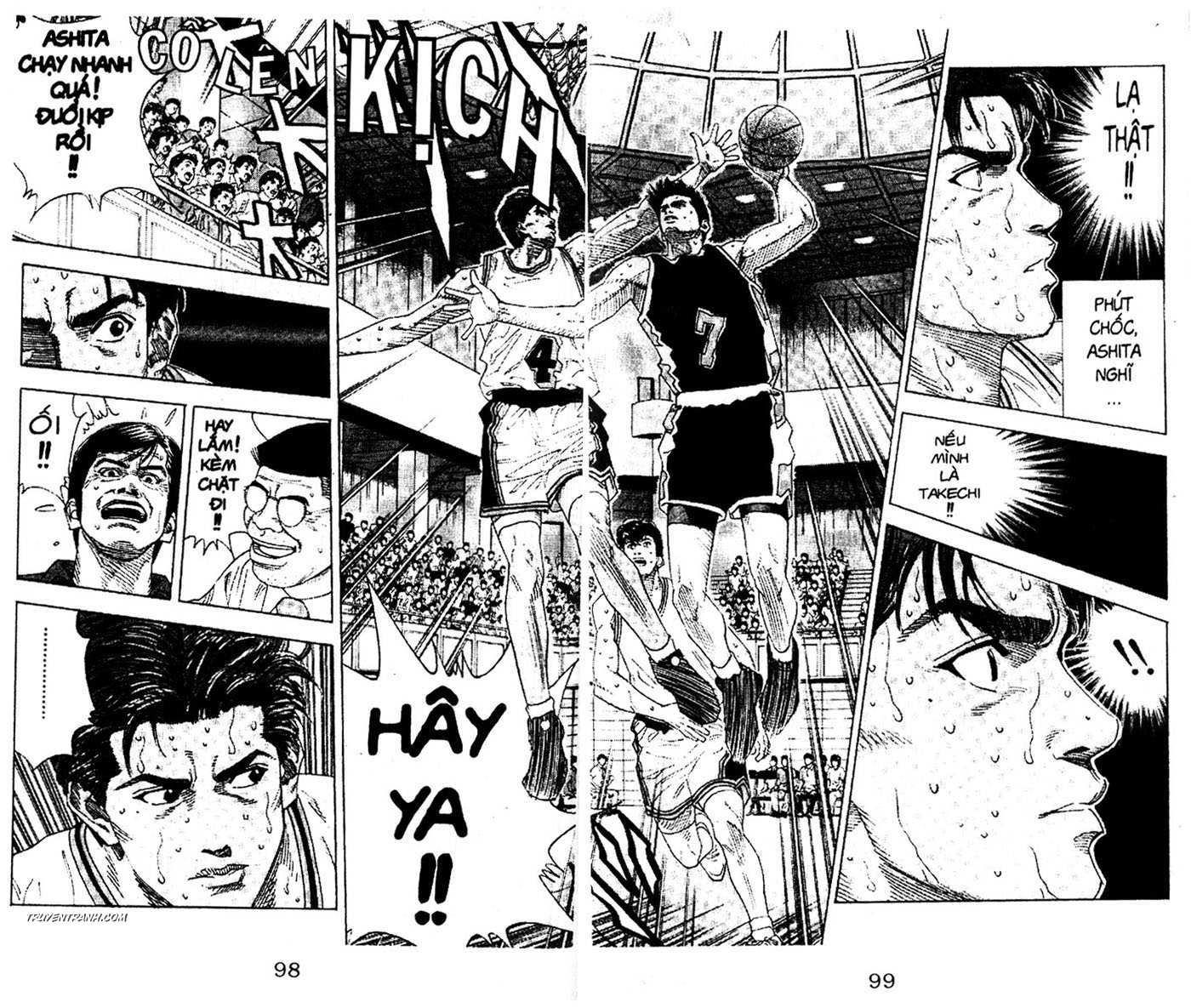 Slam Dunk chap 147 trang 3