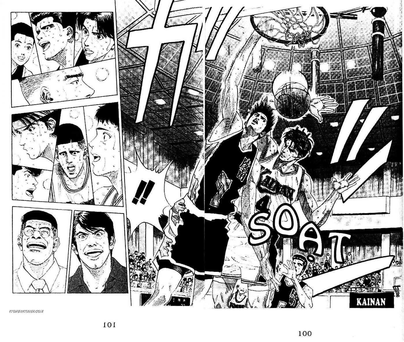 Slam Dunk chap 147 trang 4