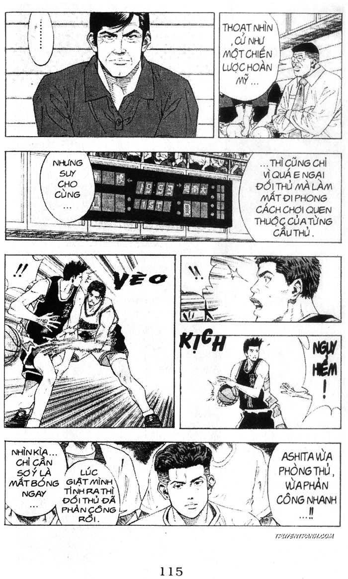 Slam Dunk chap 140 trang 10