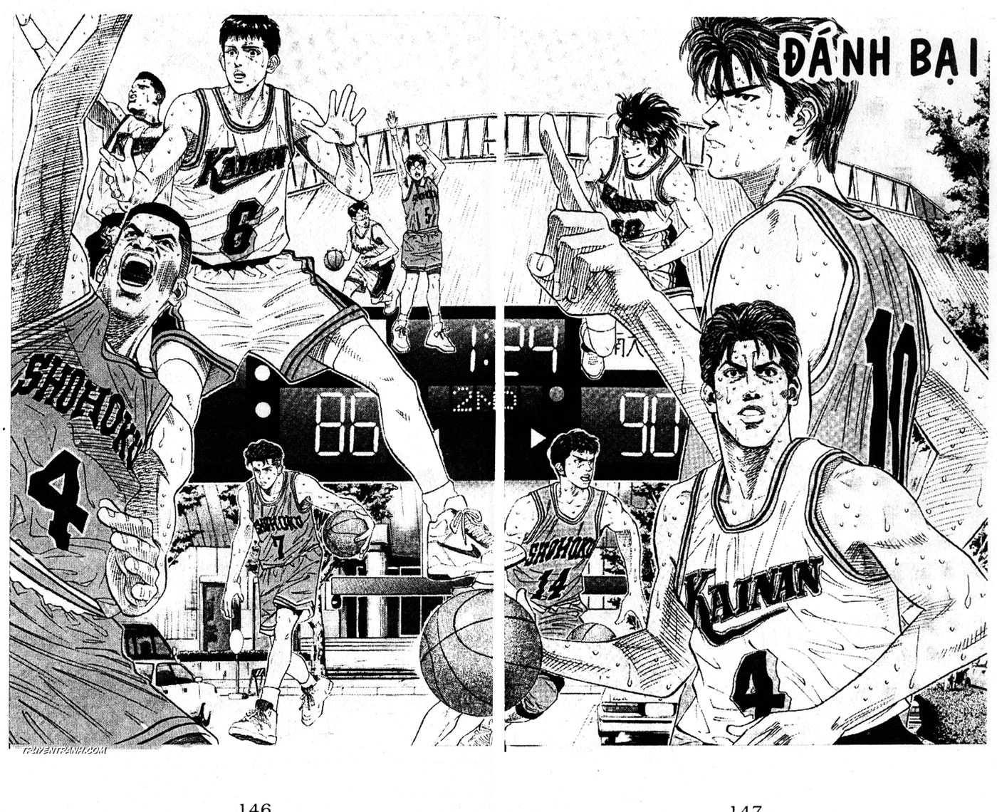 Slam Dunk chap 127 trang 3