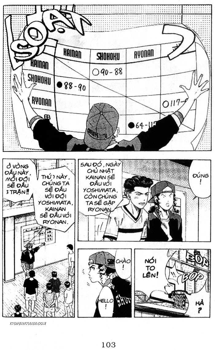 Slam Dunk chap 132 trang 8