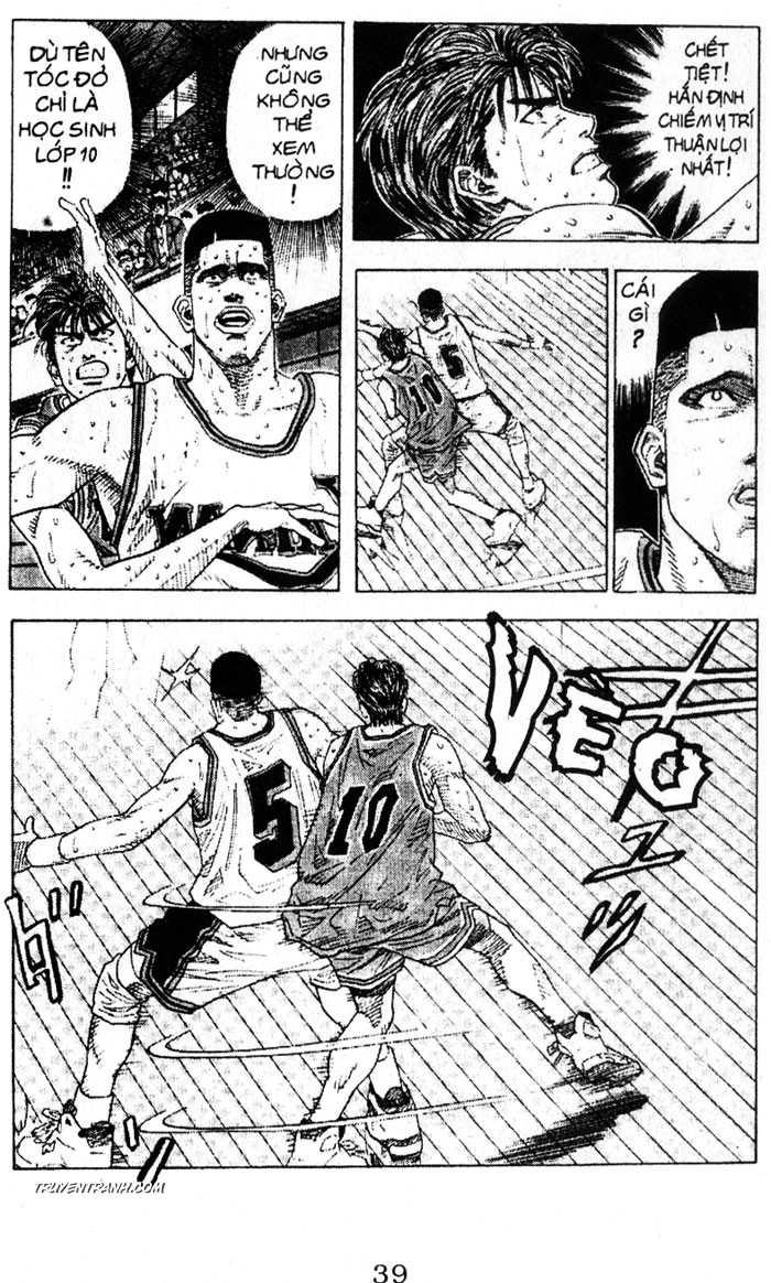 Slam Dunk chap 129 trang 4
