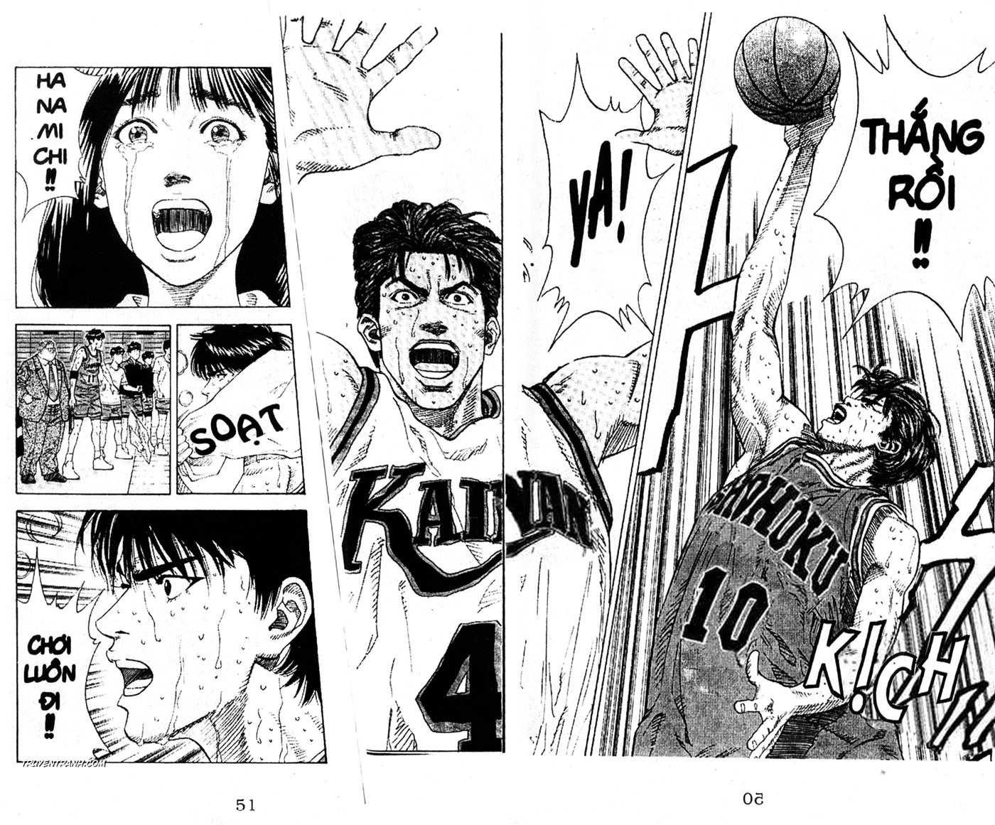 Slam Dunk chap 129 trang 15