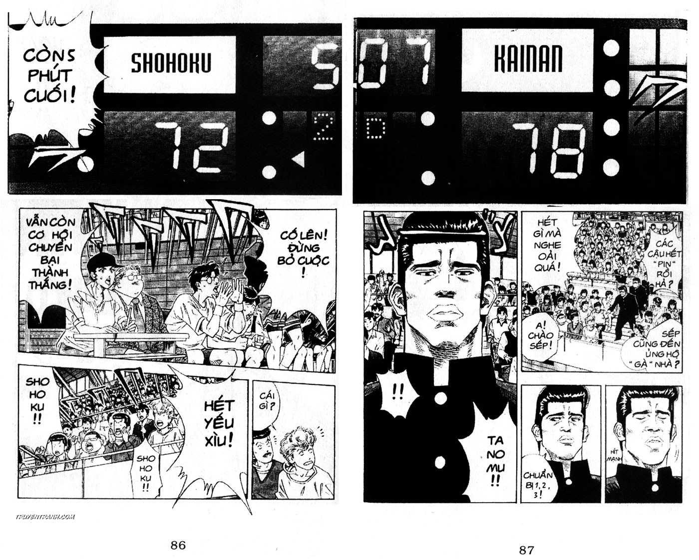 Slam Dunk chap 124 trang 2