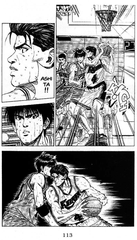 Slam Dunk chap 125 trang 10