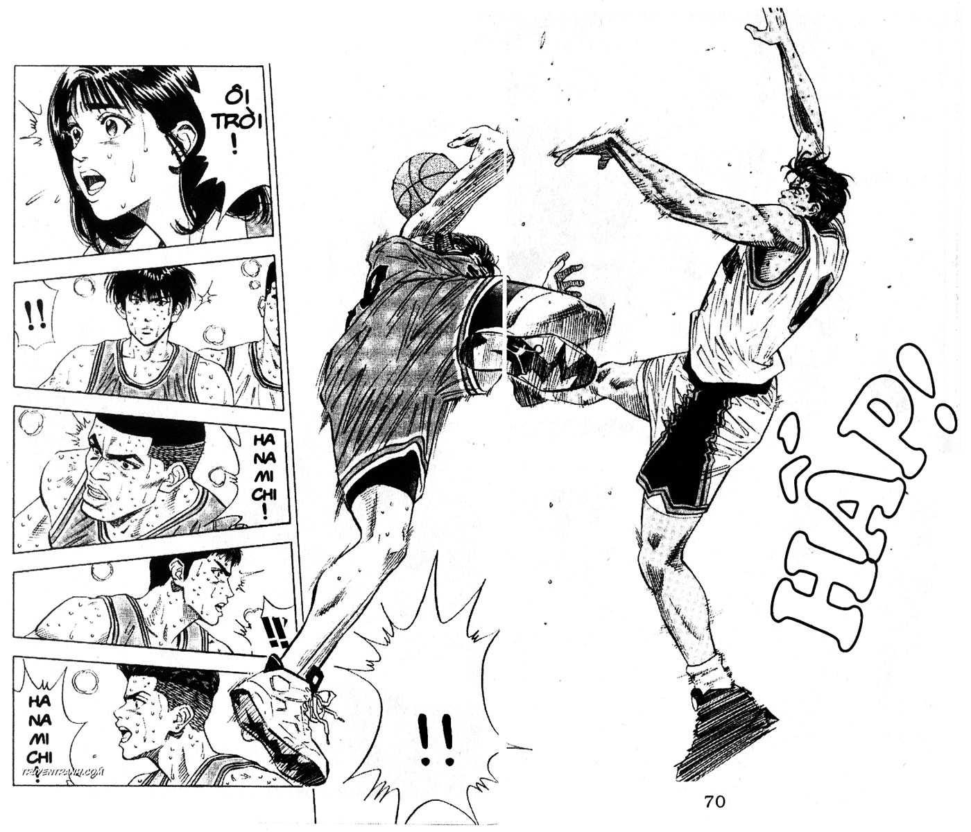 Slam Dunk chap 123 trang 4