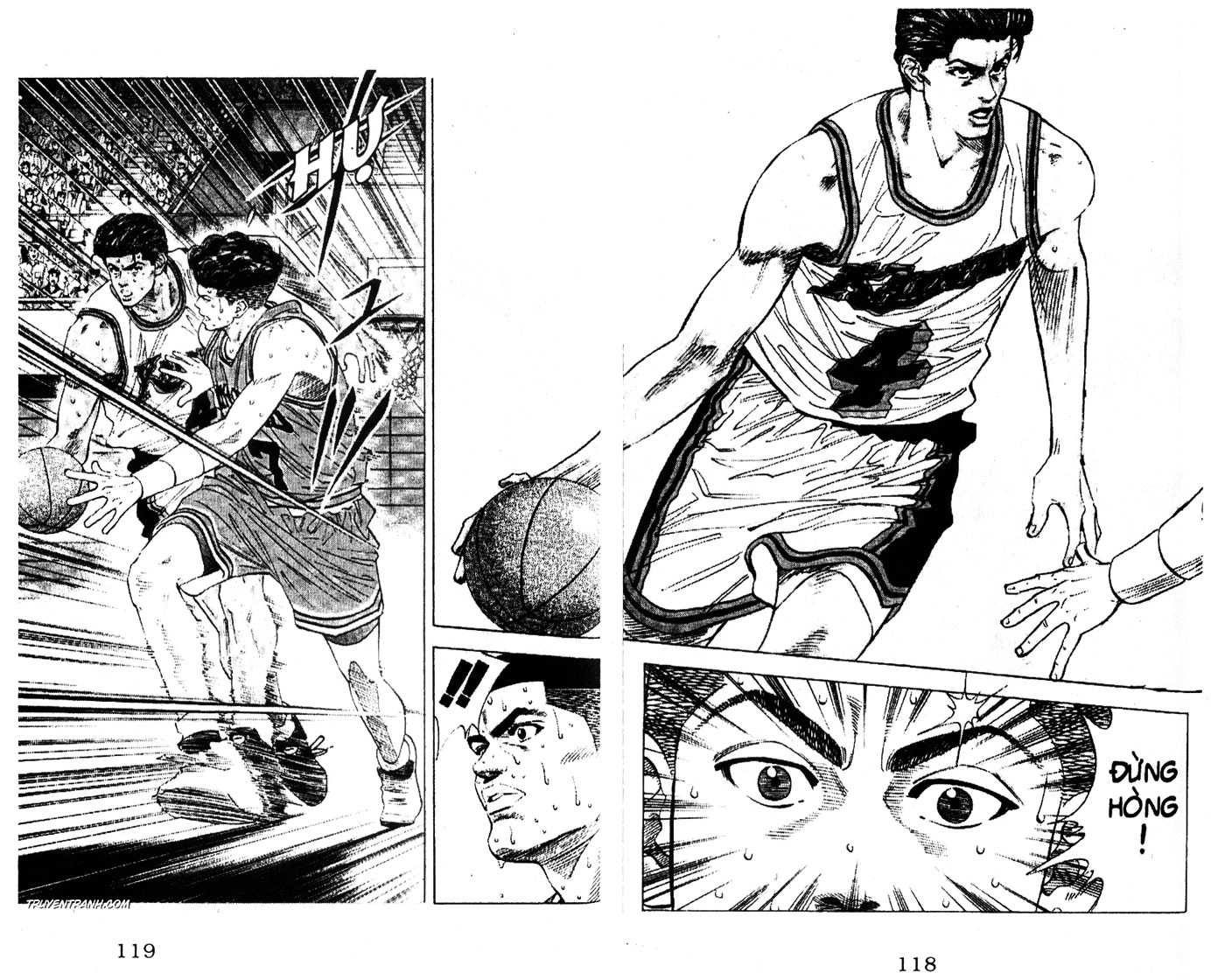 Slam Dunk chap 118 trang 4