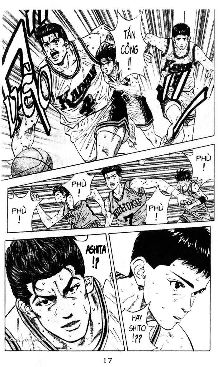 Slam Dunk chap 120 trang 11