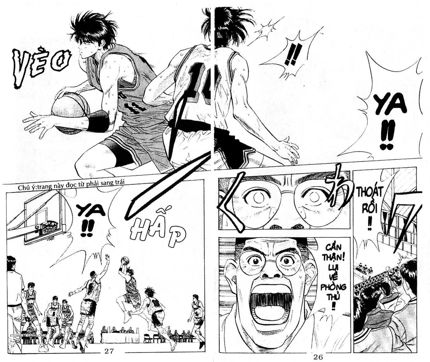 Slam Dunk chap 113 trang 10