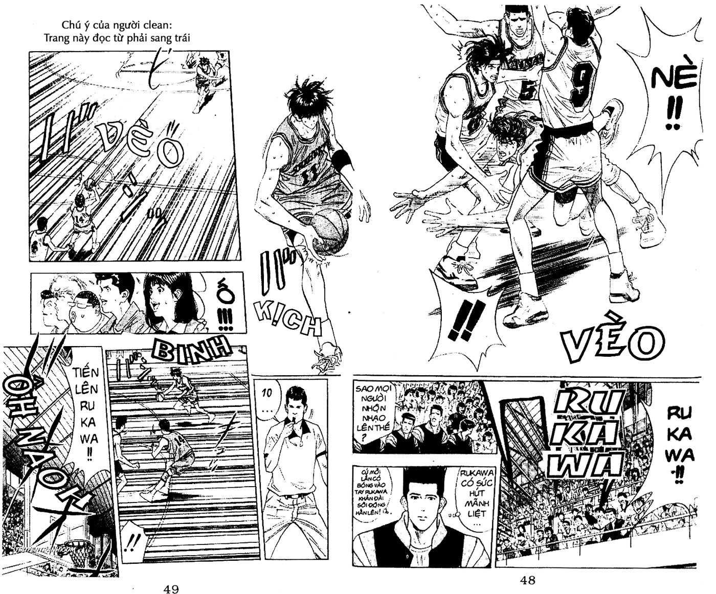 Slam Dunk chap 114 trang 13