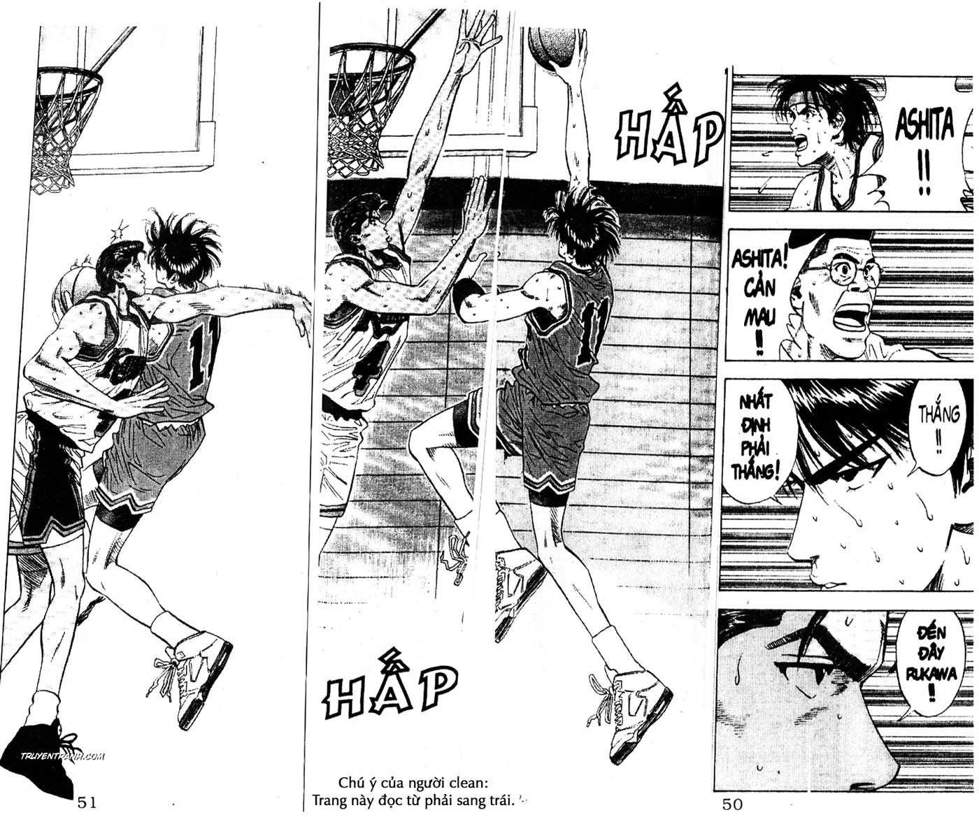 Slam Dunk chap 114 trang 14