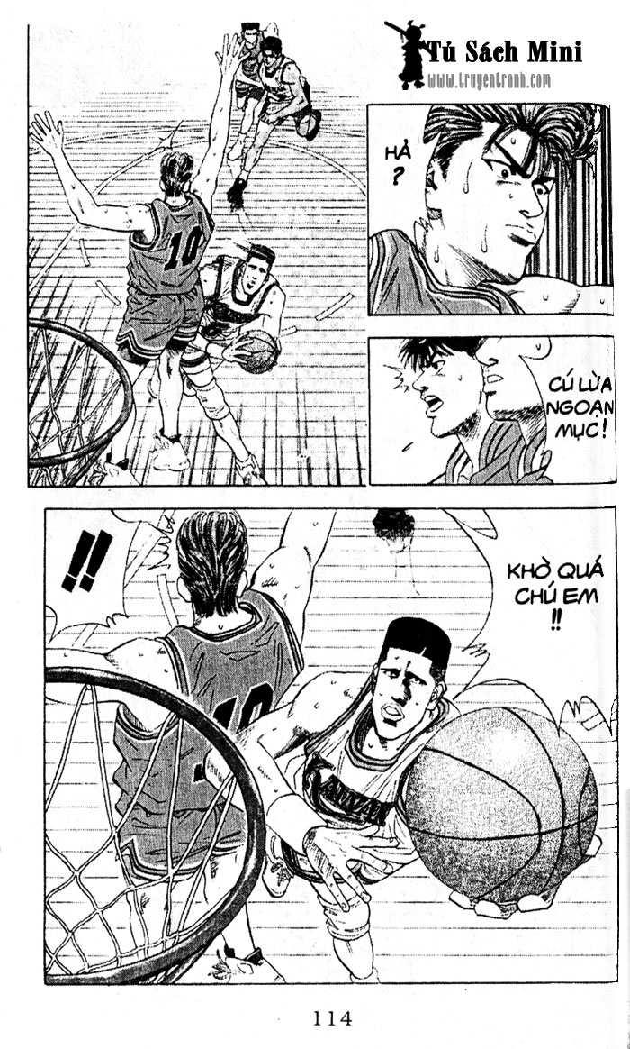Slam Dunk chap 110 trang 10