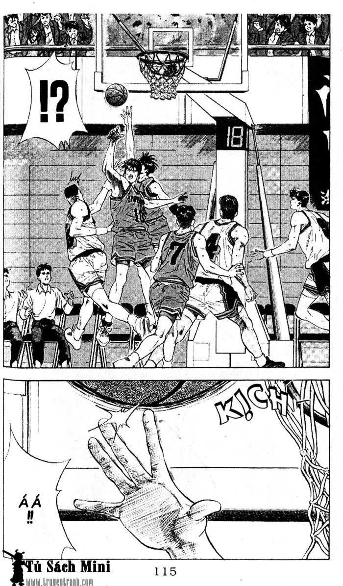 Slam Dunk chap 110 trang 11