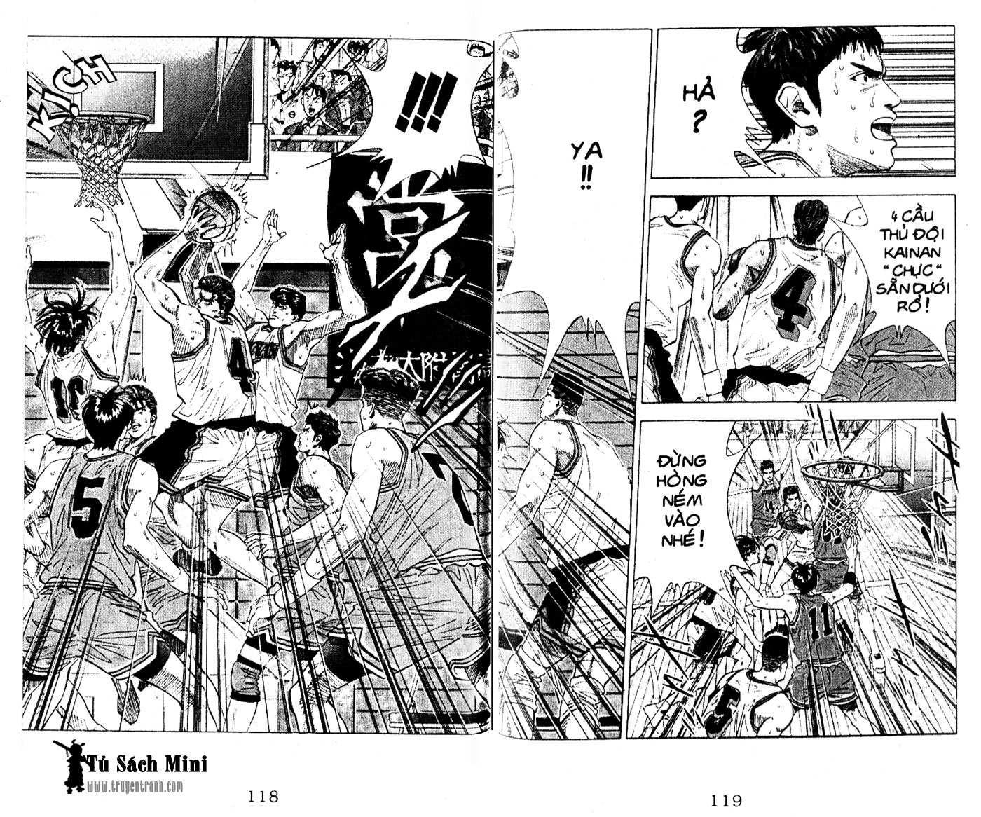 Slam Dunk chap 110 trang 14