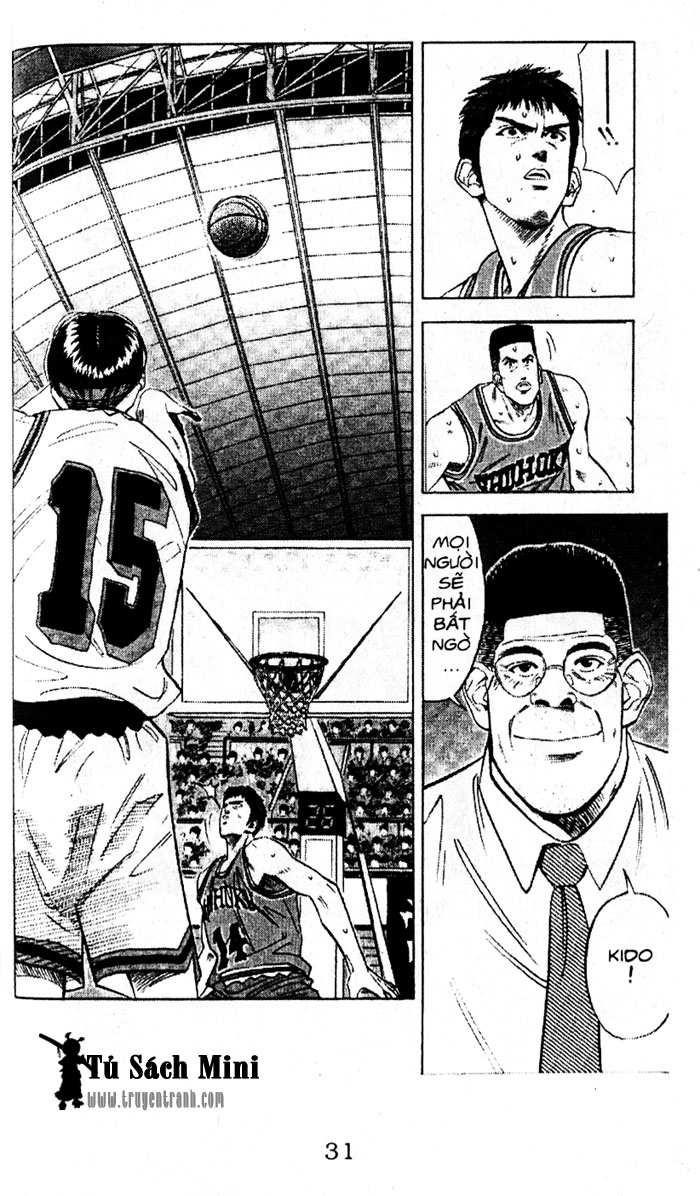 Slam Dunk chap 106 trang 10