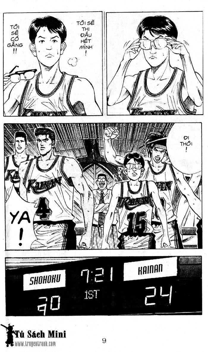 Slam Dunk chap 105 trang 8