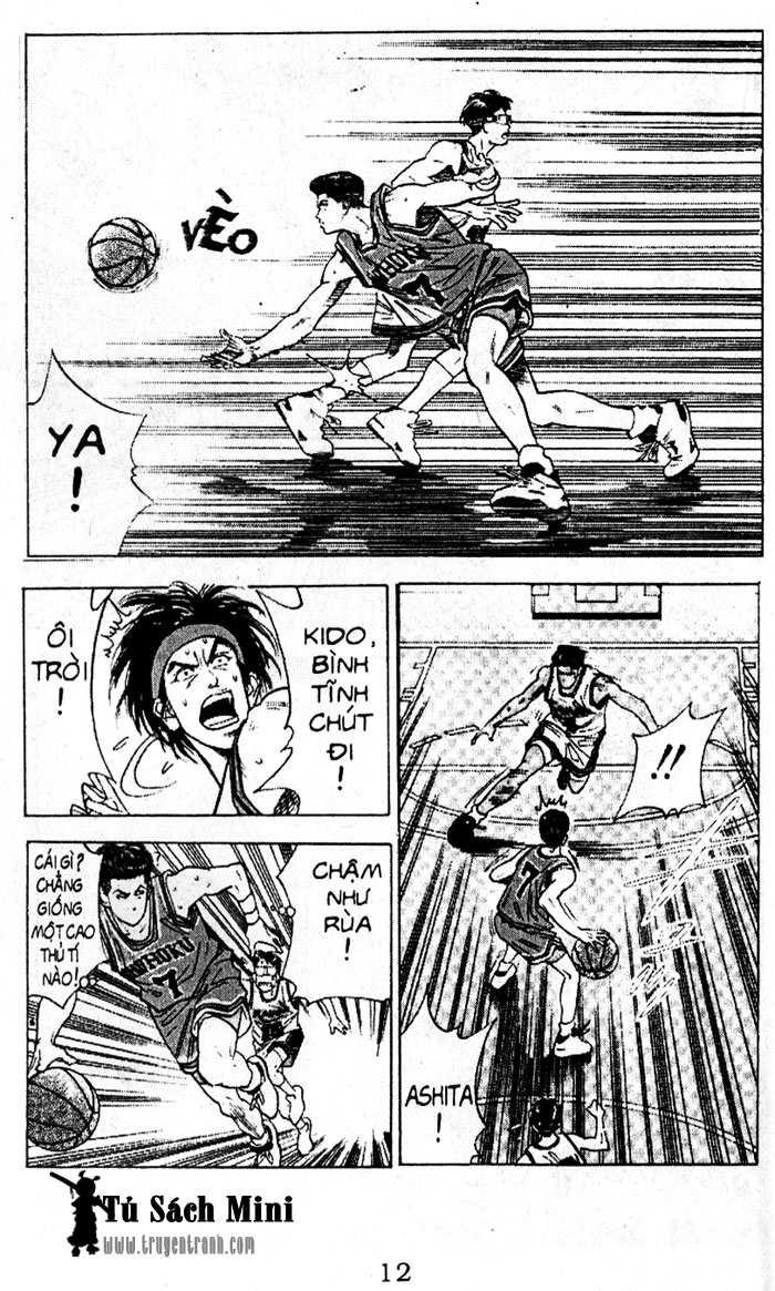 Slam Dunk chap 105 trang 11