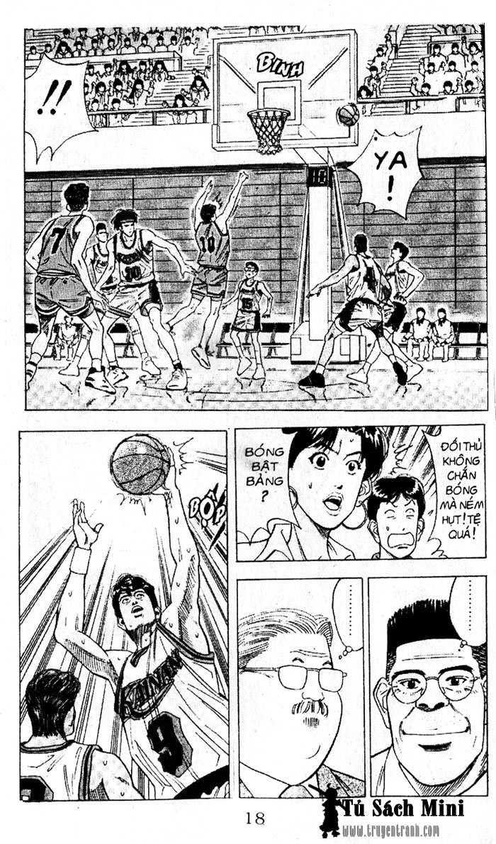Slam Dunk chap 105 trang 17